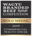 Gold Medal for Commercial Wagyu Steak