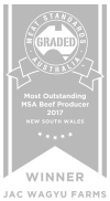 most outstanding beef producer award
